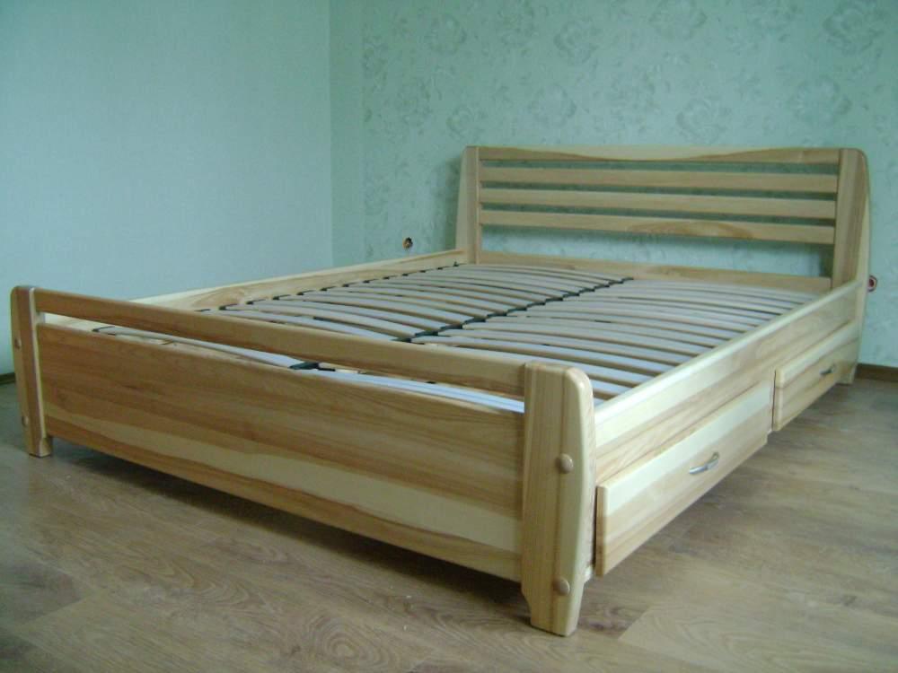 Кровать Полина, Кровати деревянные купить, Кровати деревянные от производителя, Кровати деревянные недорого