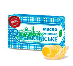 """Купить Сливочное масло ТМ """"Балаклейское"""""""