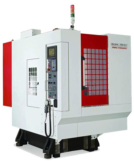 Сверлильно-резьбонарезные многоцелевые станки AKIRA-SEIKI серия РС и RMV