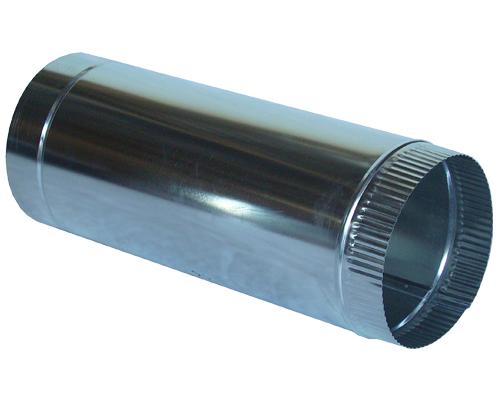 Жестяные изделия нержавейка  Круглые воздуховоды  Воздуховод круглый 0.5м нержавейка