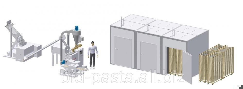 Комплекс для производства макарон производительностью 150 кг/час