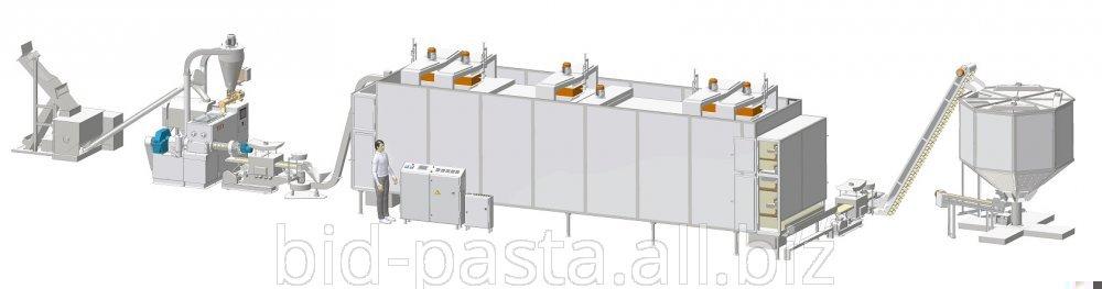 Макаронный комплекс производительностью 400 кг/час