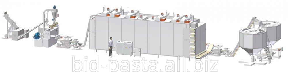 Макаронное оборудование для производства макаронных изделий производительностью 550 кг/час