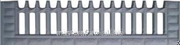 Купить Форма из АБС и ПВХ пластика для производства заборов . Форма № 36