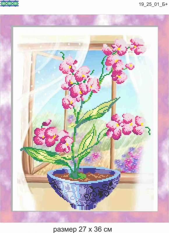 Схемы для рукоделия Орхидея