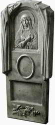Формы для памятников из АБС и ПВХ, стеклопластиковые формы. Стелла № 4