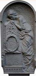 Формы для памятников из АБС и ПВХ, стеклопластиковые формы. Стелла № 8
