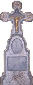 Формы для памятников из АБС и ПВХ, стеклопластиковые формы. Стелла № 18