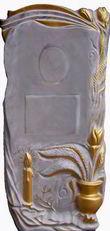 Формы для памятников из АБС и ПВХ, стеклопластиковые формы. Стелла № 32