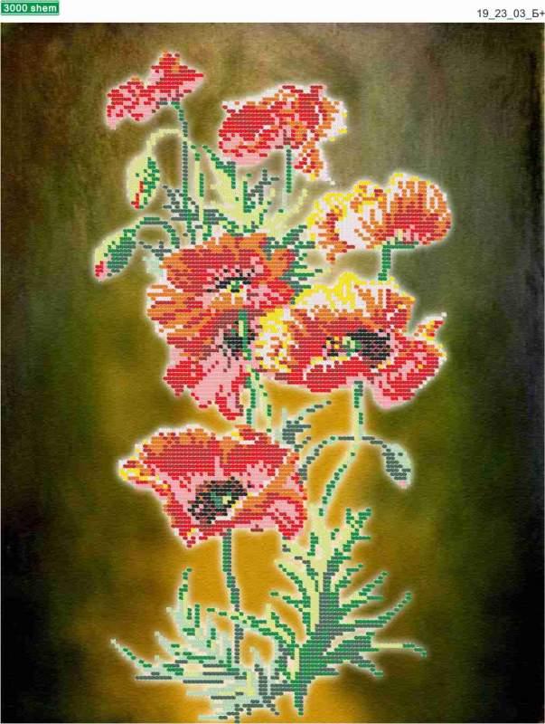 Схемы для рукоделия Цветы
