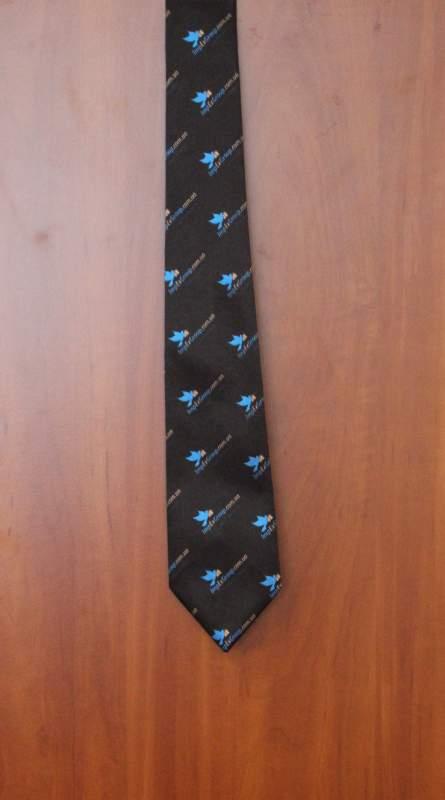 Изготовление галстуков с логотипом компании