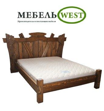 """Semi-antique furniture, semi-antique Bed """"Leader"""