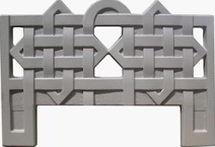 Форма из АБС пластика для производства оградок. Форма № 3