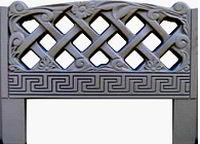 Форма из АБС пластика для производства оградок. Форма № 7