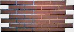 Формы для изготовления фасадной плитки.Фасад №21 Кирпич гладкий пазловой