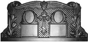 Формы для памятников из АБС и ПВХ, стеклопластиковые формы. Стелла №34