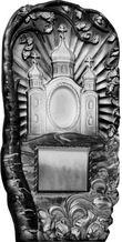 Формы для памятников из АБС и ПВХ, стеклопластиковые формы. Стелла №37