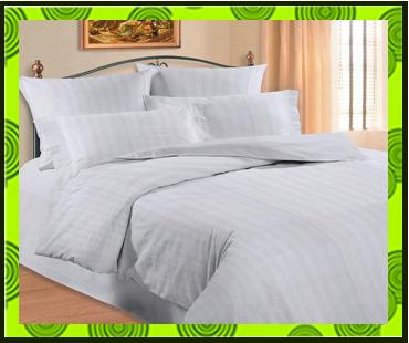 Постільна білизна зі страйп-сатина. Текстиль для готелів і готелів ... 2eecb3c5ae0c2