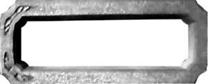 Формы для памятников из АБС и ПВХ, стеклопластиковые формы. Надгробие № 19