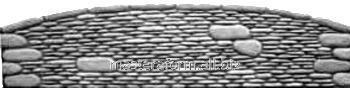 Форма из АБС и ПВХ пластика для производства заборов. Форма № 18