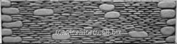 Форма из АБС и ПВХ пластика для производства заборов. Форма № 19