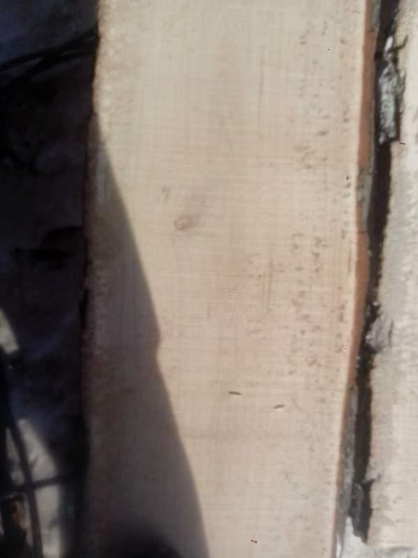 Доска необрезная дуб