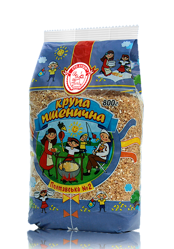 """Buy Wheat groats """"Poltavskaya"""" № 2, 3, 800 g"""