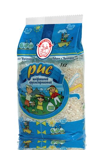 Рис круглозернистый 1 кг