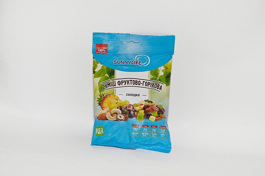 """TM """"SunnyLife"""" смесь фруктово-ореховая"""