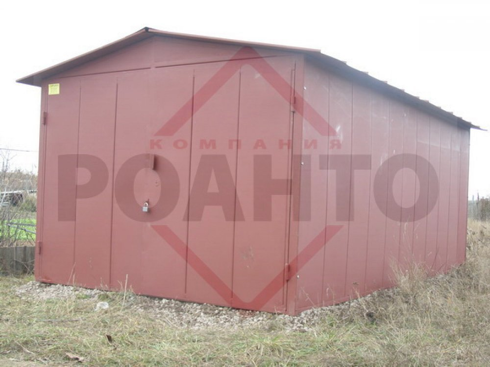 Garage from ferrous metal of 1,2 mm, only 21400 UAH