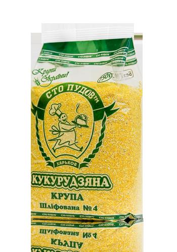 Купить Крупа кукурузная шлифованная №4, 750 г