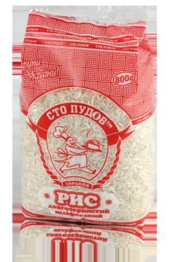 Рис длиннозернистый, 800г