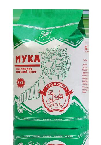 Купить Мука пшеничная, высший сорт, 5 кг