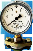 Манометр молочный МТП-100/1-ВУМ, 0-10 кгс/см2
