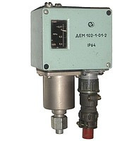 Sensor relay of a difference of pressure DEM102-1-01-2, DEM102-1-01A-2, DEM102-1-02-2, DEM102-2-02-2, DEM102-1-04-2, DEM102-1-05-2, DEM102-2-05-2, DEM102-1-06-2