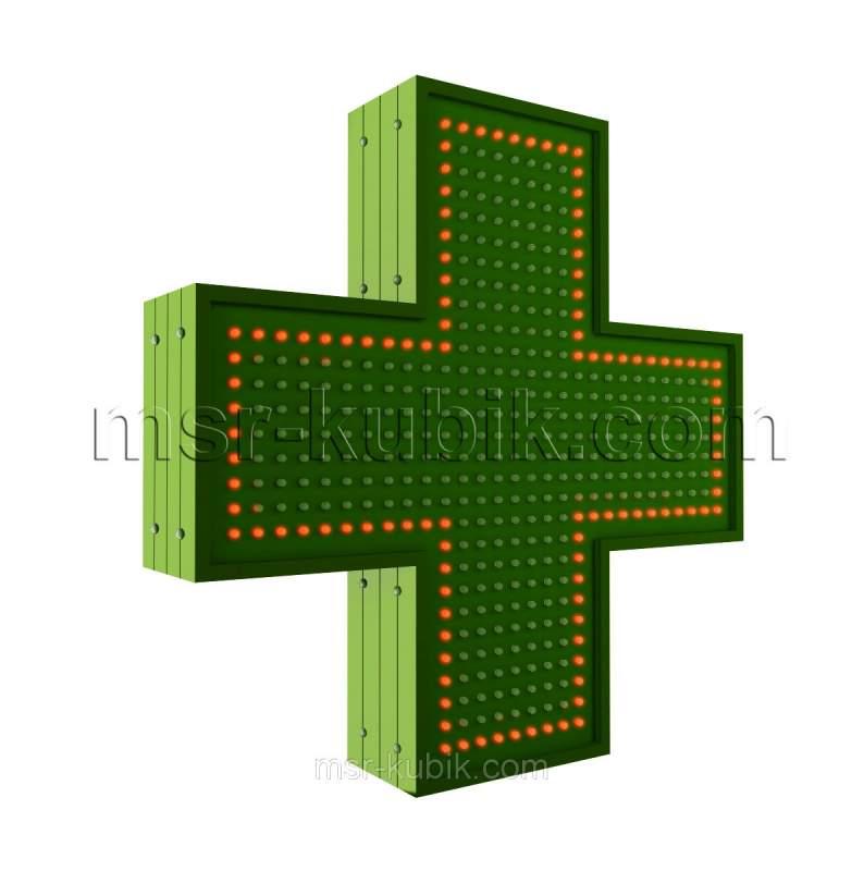 Купити Аптечний хрест 500х500 светодиодний однобічний
