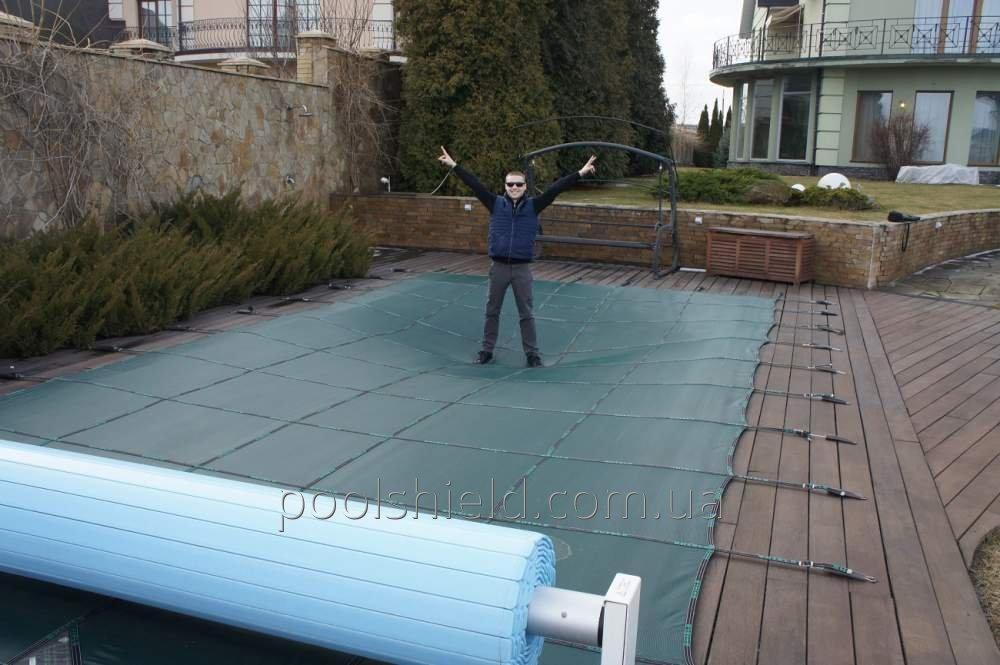 Накриття Shield для басейнів всіх типів і розмірів