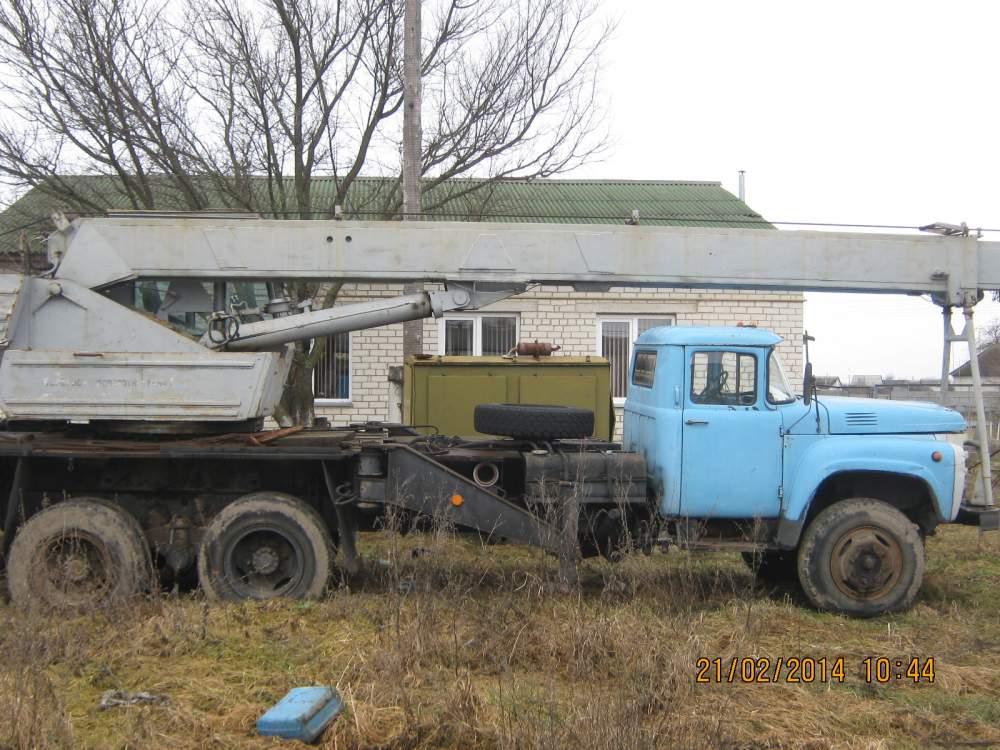 Купить Автокран КС 3575 на базе ЗИЛ