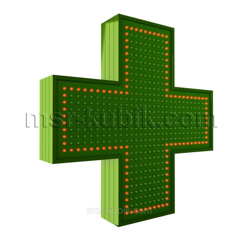 Купить Аптечный крест 600х600 светодиодный односторонний