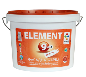 "Купить Краска ELEMENT 9 ""Экстра"", (База А) фасадная краска"