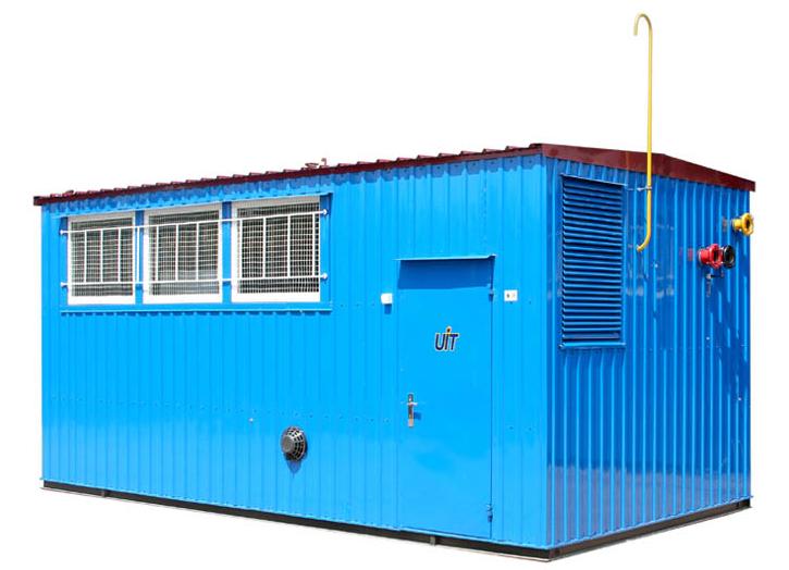 Транспортабельные модульные котельные установки ТМКУ модели 160, 240, 360, 480, 600 для теплоснабжения и горячего водоснабжения производственных, жилых и общественных зданий и сооружений.