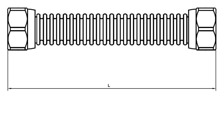 Шланги присоединительные  из нержавеющей стали служат для привязки отопительных котлов, водогрейных колонок, посудомоечных машин, радиаторов, сантехники и т.д.