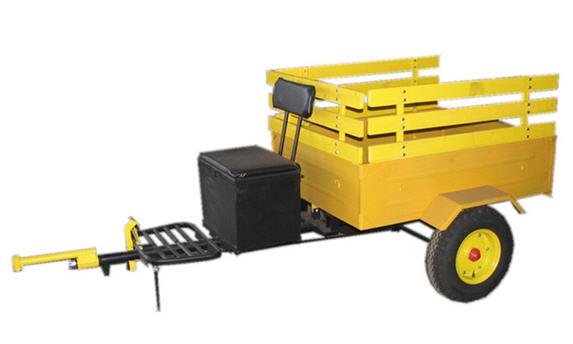 Тележка «Мотор Сич ТС-1» для перевозки грузов в личных подсобных хозяйствах, коллективном садоводстве и огородничестве. Агрегатируются с мотоблоком «Мотор Сич МБ-4,05».