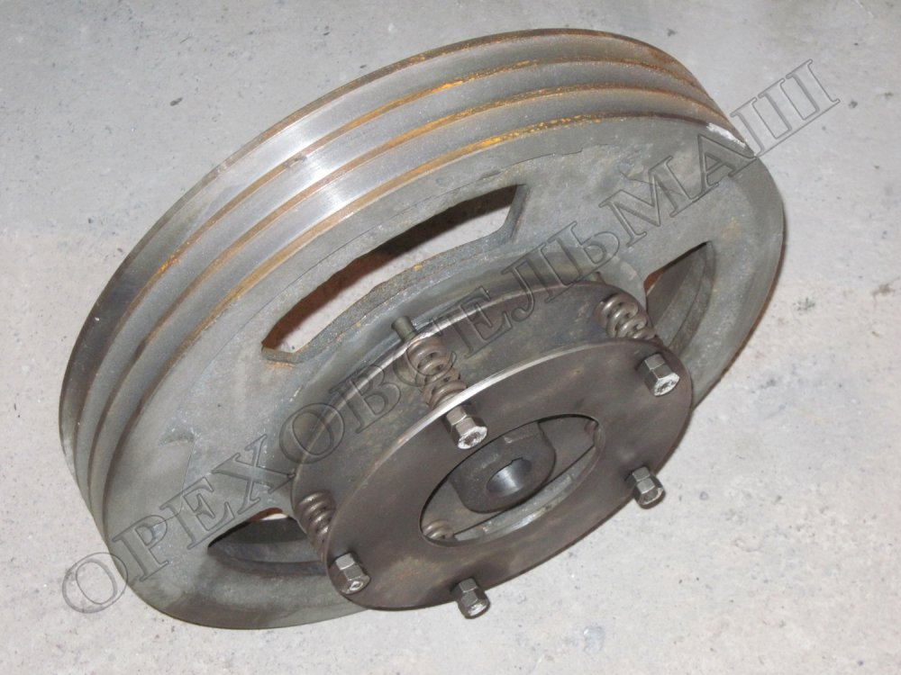 Buy Coupling pulley assembled on a zernometatel