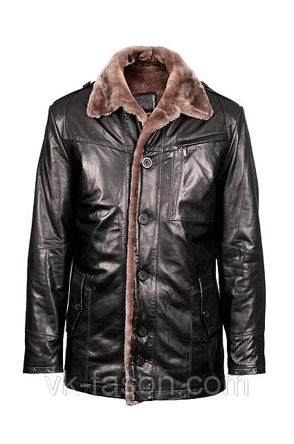 Купить мужские кожаную куртку в украине