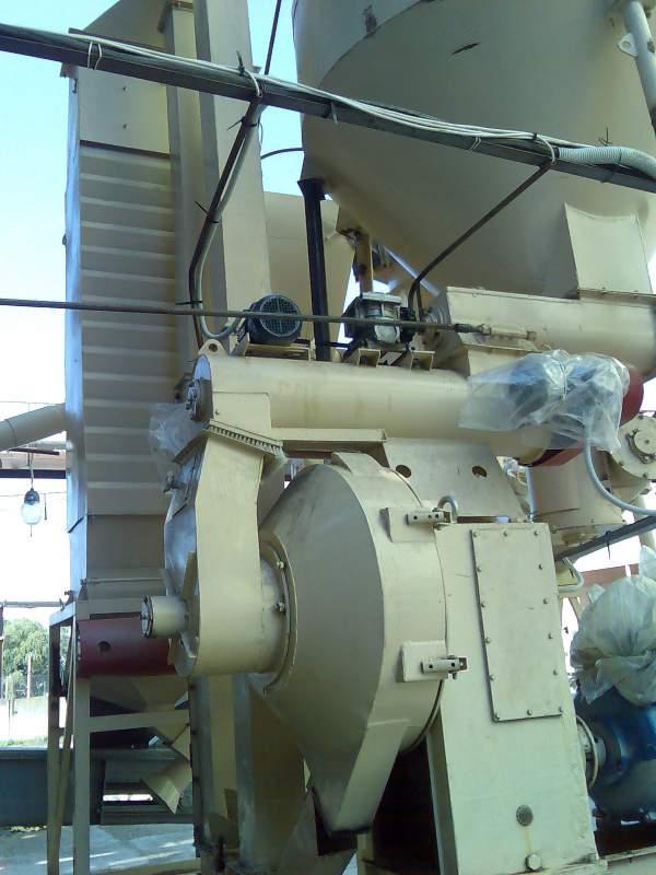 Производство линий гранулирования и брекетирования биомассы