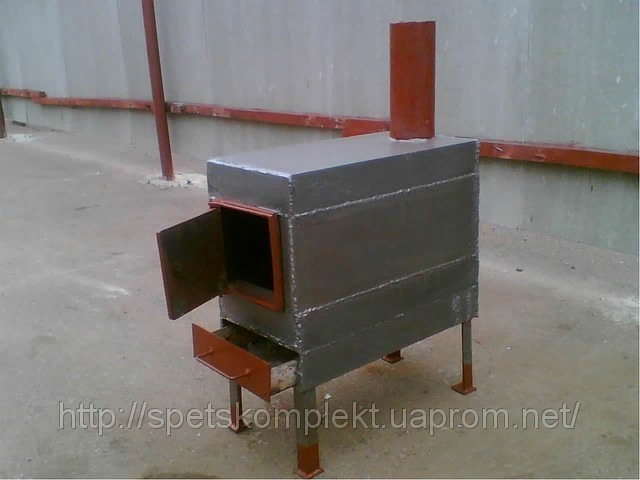 Металлическая печь для дома своими руками видео