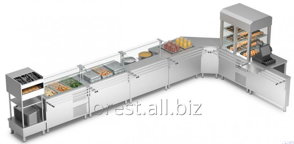 Self-service lines (serving counters) Orest