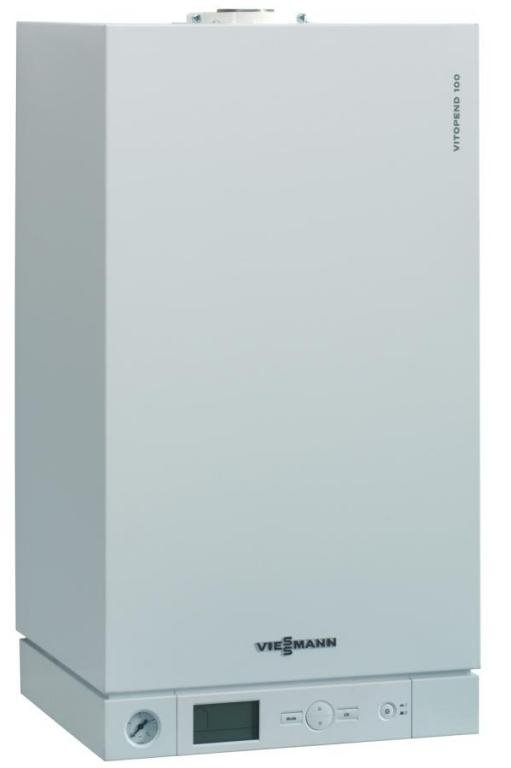 Котел газовый VIESSMANN Vitopend 100 WH1D 23  кв двухконтурный дымоходный