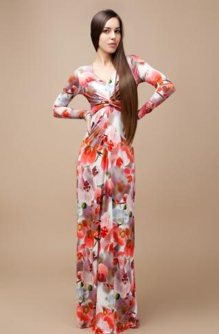 2052830e2e2345 Плаття жіночі Весна довгі купити в Харків